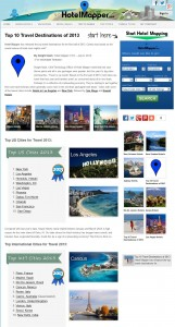hotelmapper top travel destinations